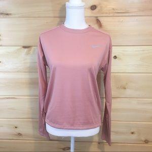 Nike   Blush pink long sleeve top